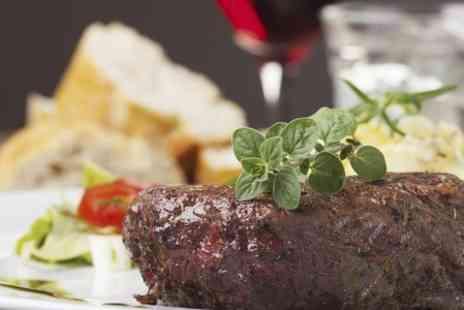 Steak and Grill Mediterranean Resturant - Two Course Steak Meal For Two - Save 50%