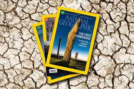 National Geographic Magazine - 12 Month Subscription of National Geographic Magazine - Save 50%