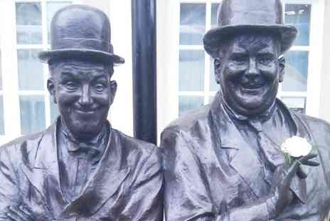 Laurel and Hardy Museum - Laurel and Hardy Museum Entry With Popcorn For Two  - Save 50%