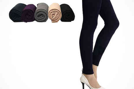My Avarice  - One Pair or Warm Winter Fleece Leggings - Save 61%