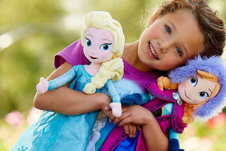 Fab Shopper - Princess Soft Toys - Save 72%