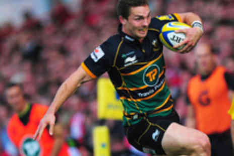 Northampton Saints - Adult Ticket to Saints v Newcastle Falcons in the Rugby Union LV  Cup - Save 27%