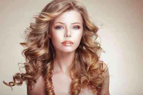 Hair by Ximena - Head of highlights including cut, blow dry and bubbly - Save 66%