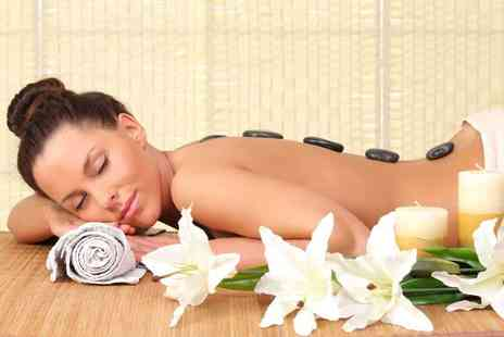 Angel Sourced Holistics - Hot stone facial and hot stone back  neck & shoulder massage - Save 64%