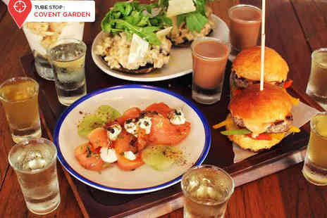 Little Water - Four Small Plates to Share Between Two with Four Matching Paired Vodkas Each - Save 62%
