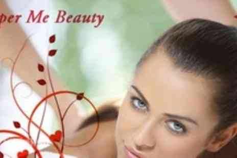 Pamper Me Beauty - Gift Voucher For a Choice of Beauty Treatment Such as Guinot Facial - Save 69%