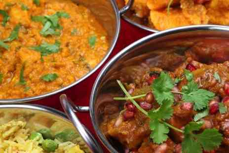 Balti King - Two Course Indian Meal With Sides For Two - Save 67%
