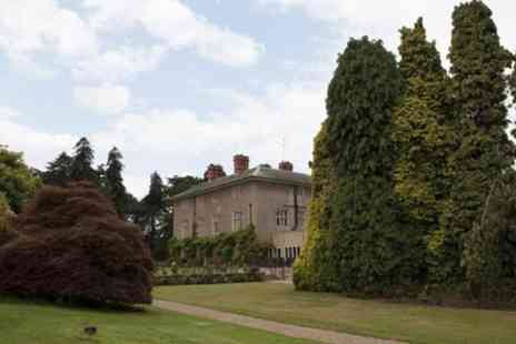 Woodborough Hall - Three Course Meal For Two With Canapes and Prosecco - Save 52%