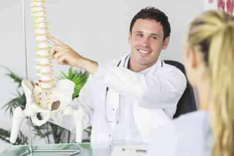 Chiropractic business x3 - Two Chiropractic Treatments Plus Consultation and Posture Scan - Save 83%