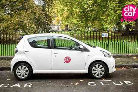 Nationwide Vehicle Hire - City Car Club Membership Including Up to £50 Driving Credit  - Save 69%