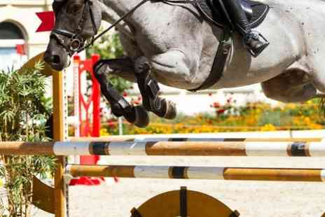 Kingsbarn Equestrian Centre - Tickets to Geoff Billington Show Jumping Clinic and Demo - Save 40%