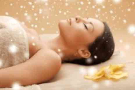 Enfys Wellbeing & Beauty - 90 minute Christmas massage & facial pamper package - Save 50%