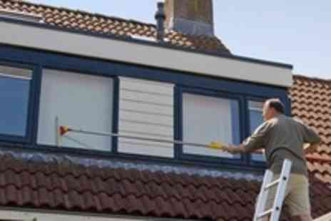 Handyman 4 Hire - UPVC Window, Door, Guttering and Fascia Clean - Save 74%
