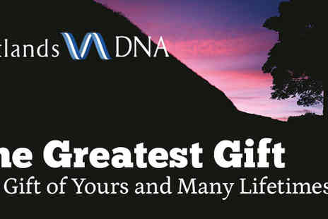 ScotlandsDNA - The Gift of Yours and Many Lifetimes - Save 23%