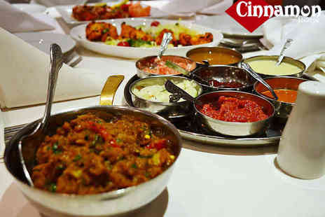The Cinnamon Lounge - £22 Spend on Indian Food and Drinks for Two   - Save 55%