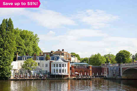 Carlton Mitre Hotel - A Riverside Break on the Beautiful Thames - Save 55%