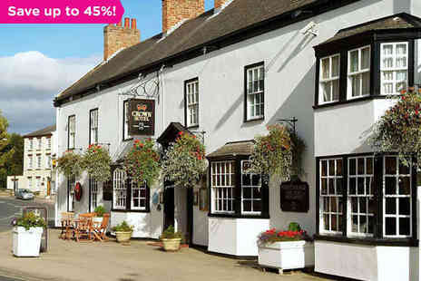 Best Western Crown Hotel - The Green and Pleasant Land of North Yorkshire - Save 45%