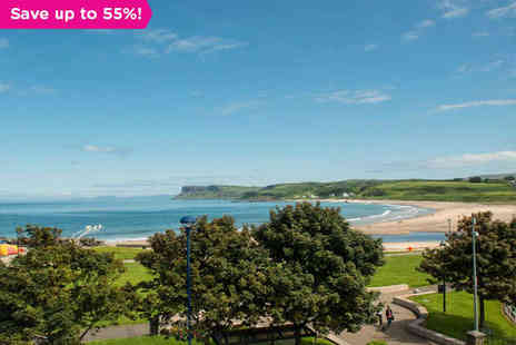 Marine Hotel Ballycastle - One night stay for two in Ballycastle - Save 55%
