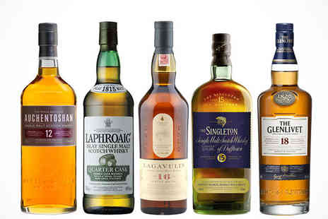 Flaviar - Scotch Whisky Tasting Pack plus £10 Voucher and Delivery Included - Save 53%