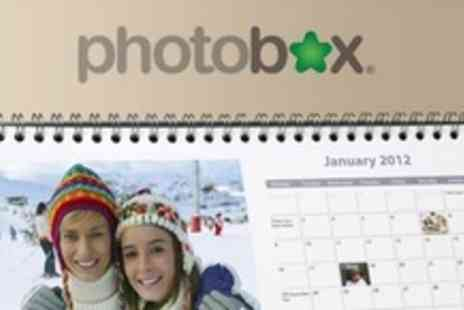PhotoBox - Four Personalised Desk Calendars - Save 74%