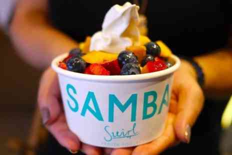 Samba Swirl - Yogurt With Toppings - Save 50%