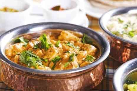 Sampan Indian Restaurant -  Two Course Meal For Two - Save 62%