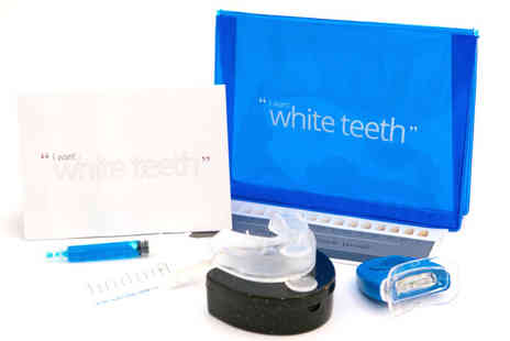 MRG Trading - I want white teeth Premium Peroxide Free Home Teeth Whitening Kit - Save 83%