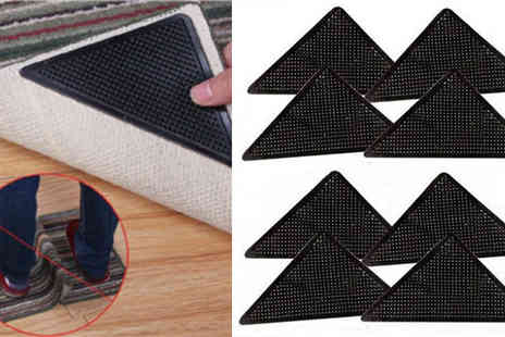E accessories - Eight Piece Non Slip Rug Gripper Set - Save 50%