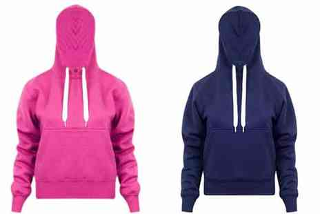 16 Sixty - Womens Pullover Hooded Jumper - Save 64%