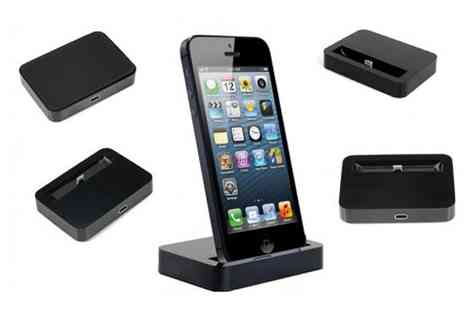E accessories - Docking Station for iPhone 5 - Save 62%
