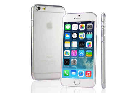 Infinity Goods - iPhone 6 and 6 Plus Clear Hard Plastic Case - Save 62%