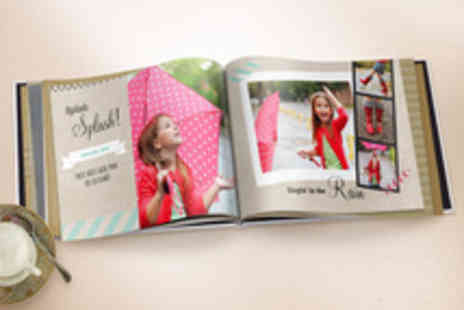 TRUPRINT - 98 Page Photobook with Personalised Cover - Save 77%