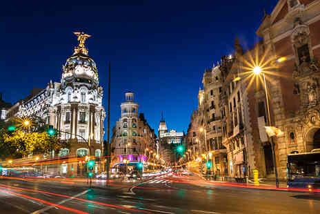 iFly Holidays - Two night Madrid break with breakfast and return flights - Save 42%
