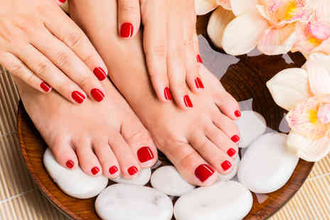 3D Beauty Academy - Gelish manicure and pedicure - Save 52%