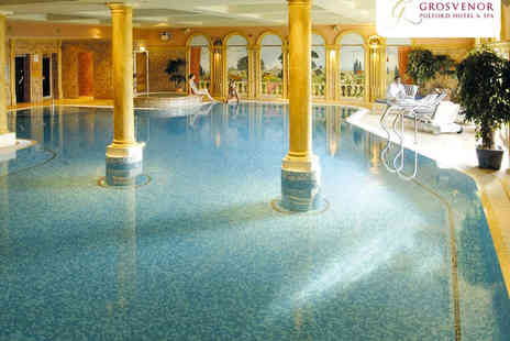 Grosvenor Pulford Hotel and Spa - Spa Day with Elemis or Clarins Treatment - Save 51%