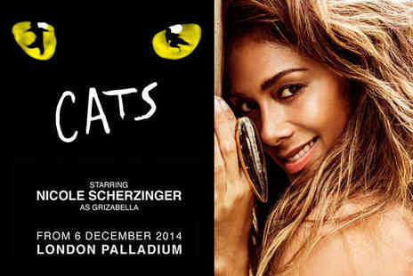 CATS Starring Nicole Scherzinger - VIP Package for Two at The London Palladium - Save 50%