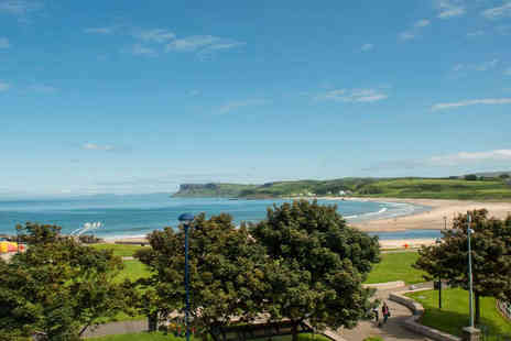 Marine Hotel Ballycastle - One Night  Ballycastle Coast Hotel Stay for Two with Breakfast and Tour of Old Bushmills Distillery - Save 55%