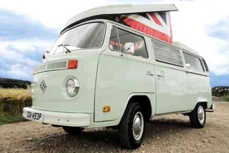 Castle Coast Campers - Three Night VW Campervan Hire  - Save 58%
