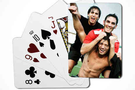 Uk Photo Deals - Personalised Photo Playing Cards - Save 53%