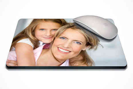 Uk Photo Deals - Personalised Photo Mouse Mat - Save 63%