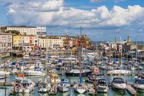 Royal Harbour Hotel - Explore this quirky seaside town with breakfast and cheese board included - Save 56%