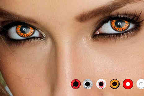 Online Gift Store -  Halloween Contact Lenses  - Save 80%