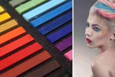 ASO Celebs - Set of 12 or 24 Hair Chalks - Save 70%
