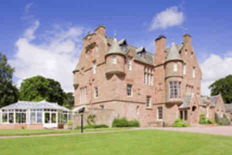 Cringletie House - Captivating Castle Escape in Peebles with Dining Option - Save 49%