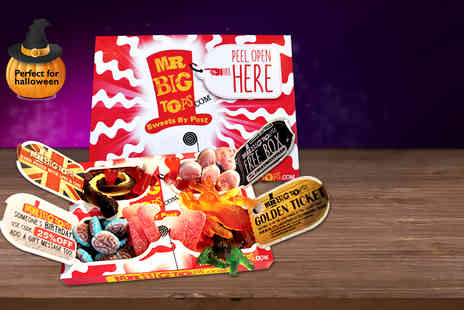 Mr Big Tops  - Two  boxes of retro sweets - Save 50%