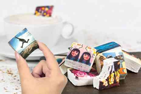 Boomf -  9 personalised photo marshmallows - Save 36%