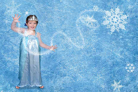 Urban Makeovers -  Frozen inspired princess photoshoot including a print & a princess crown  - Save 92%