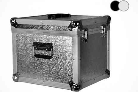 Turborevs - NEO 100LP Vinyl LP Storage Case in Black or Silver - Save 33%
