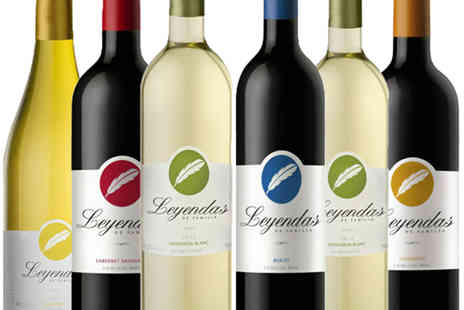 The Oakbridge Wine Company - Mixed case of Leyendas De Familia Chilean wine - Save 40%