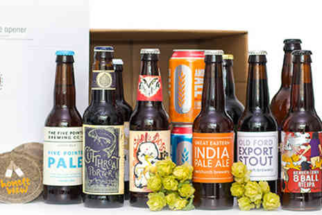 Honest Brew - 12 Craft Beer Honesty Box - Save 44%